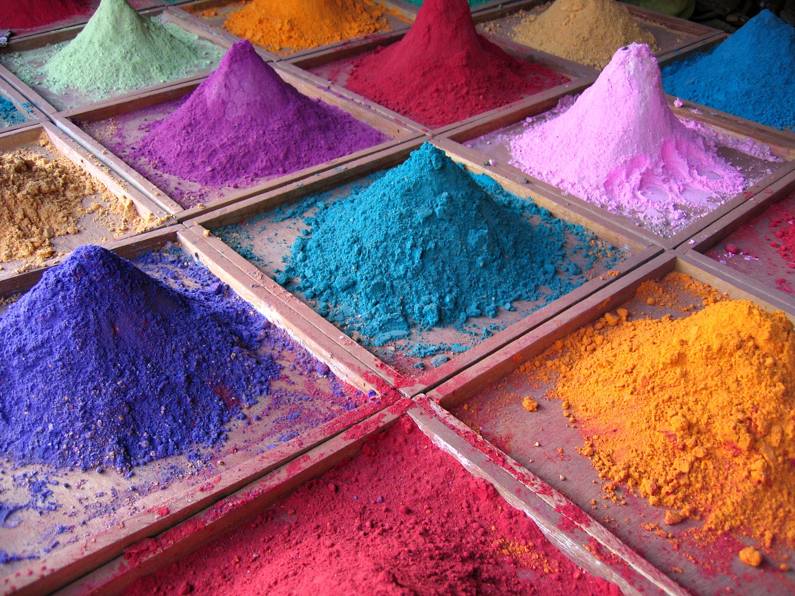 Production of paints